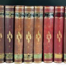 Libros antiguos: EDITORIAL LABOR. ÁLBUM DE LAS GALERÍAS DE PINTURAS. 8 TOMOS(VER DESCRIPCIÓN). S/F.. Lote 80616190