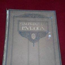 Libros antiguos: ANTIGUO LIBRO GALERIAS DE PINTURA DE LOS MUSEOS DE FLORENCIA. Lote 82211196