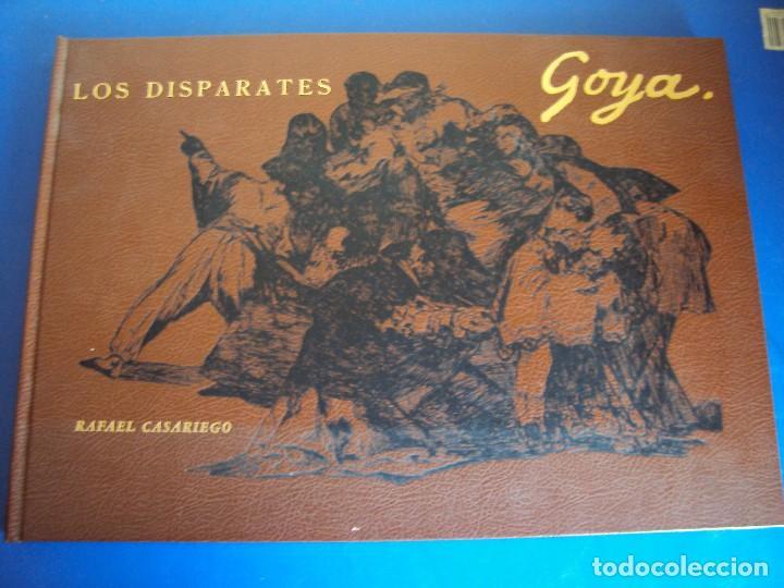(LI-170428)LOS DISPARATES DE GOYA. RAFAEL CASARIEGO. EDICIONES VELAZQUEZ. MADRID. 1974 (Libros Antiguos, Raros y Curiosos - Bellas artes, ocio y coleccion - Pintura)