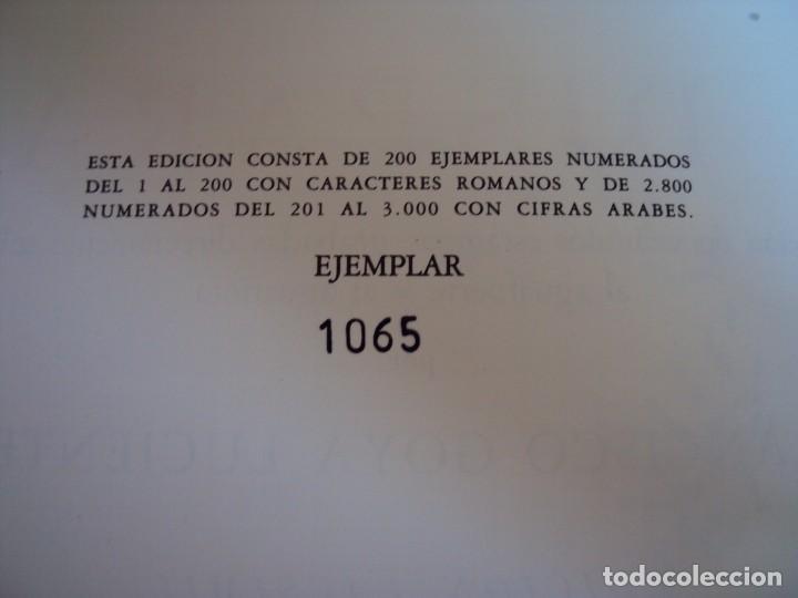 Libros antiguos: (LI-170428)LOS DISPARATES DE GOYA. RAFAEL CASARIEGO. EDICIONES VELAZQUEZ. MADRID. 1974 - Foto 3 - 85028960