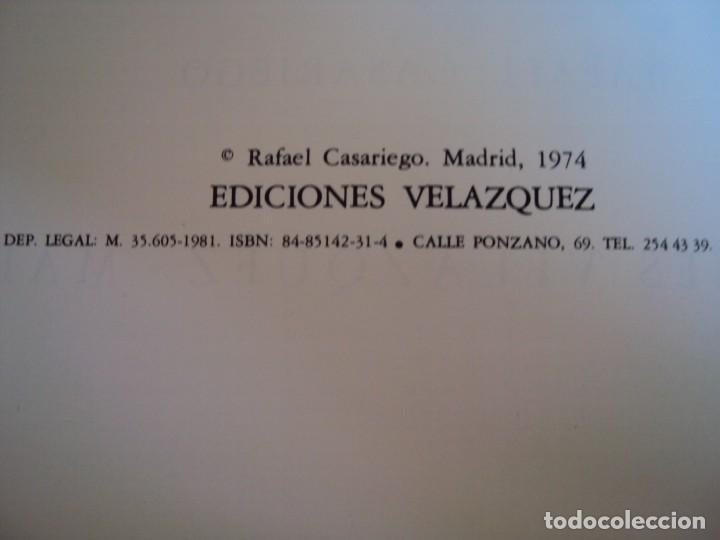 Libros antiguos: (LI-170428)LOS DISPARATES DE GOYA. RAFAEL CASARIEGO. EDICIONES VELAZQUEZ. MADRID. 1974 - Foto 4 - 85028960
