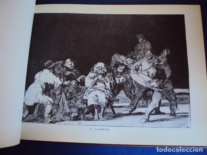 Libros antiguos: (LI-170428)LOS DISPARATES DE GOYA. RAFAEL CASARIEGO. EDICIONES VELAZQUEZ. MADRID. 1974 - Foto 6 - 85028960