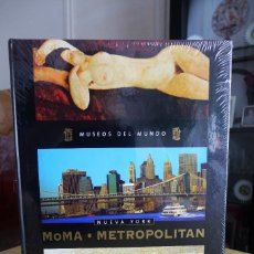 Libros antiguos: MUSEOS DEL MUNDO - MOMA / METROPOLITAN - PLANETA AGOSTINI 2005, TAPA DURA, A ESTRENAR PRECINTADO. Lote 87253424