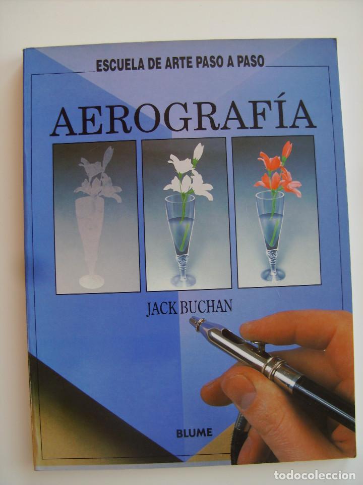 LIBRO AEROGRAFÍA. ESCUELA DEL ARTE PASO A PASO. EDITORIAL BLUME. (Libros Antiguos, Raros y Curiosos - Bellas artes, ocio y coleccion - Pintura)