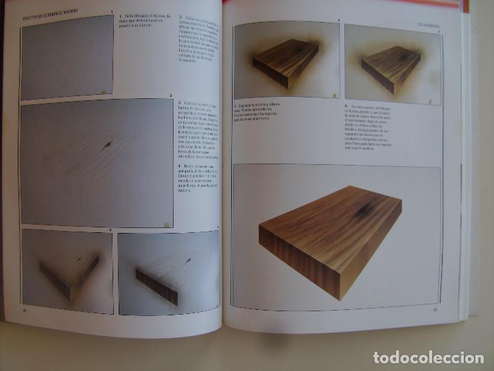 Libros antiguos: Libro Aerografía. Escuela del arte paso a paso. Editorial Blume. - Foto 3 - 89193148