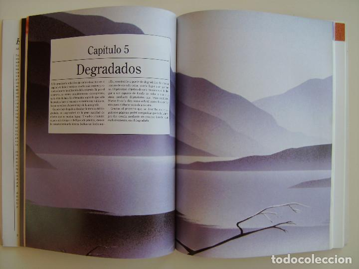 Libros antiguos: Libro Aerografía. Escuela del arte paso a paso. Editorial Blume. - Foto 4 - 89193148
