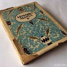 Libros antiguos: LEONARDO ALENZA. ESTRELLA, COL. MONOGRAFÍAS DE ARTE .1ª EDICIÓN. Lote 90028836