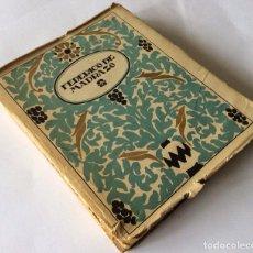 Libros antiguos: FEDERICO DE MADRAZO. MONOGRAFÍAS DE ARTE. DIRECTOR: GREGORIO MARTÍNEZ SIERRA. (COLECCIÓN ESTRELLA) -. Lote 90029076