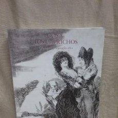 Libros antiguos: LIBRO GOYA LOS CAPRICHOS DIBUJOS Y AGUAFUERTES - CENTRAL HISPANO AÑO 1994. Lote 90112084