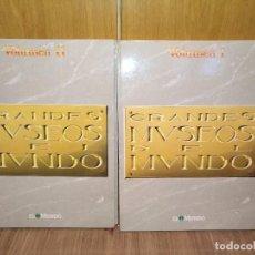 Libros antiguos: GRANDES MUSEOS DEL MUNDO, VOL I Y II, 632 PÁGS GRAN TAMAÑO PUBLICA EL MUNDO. Lote 91016755