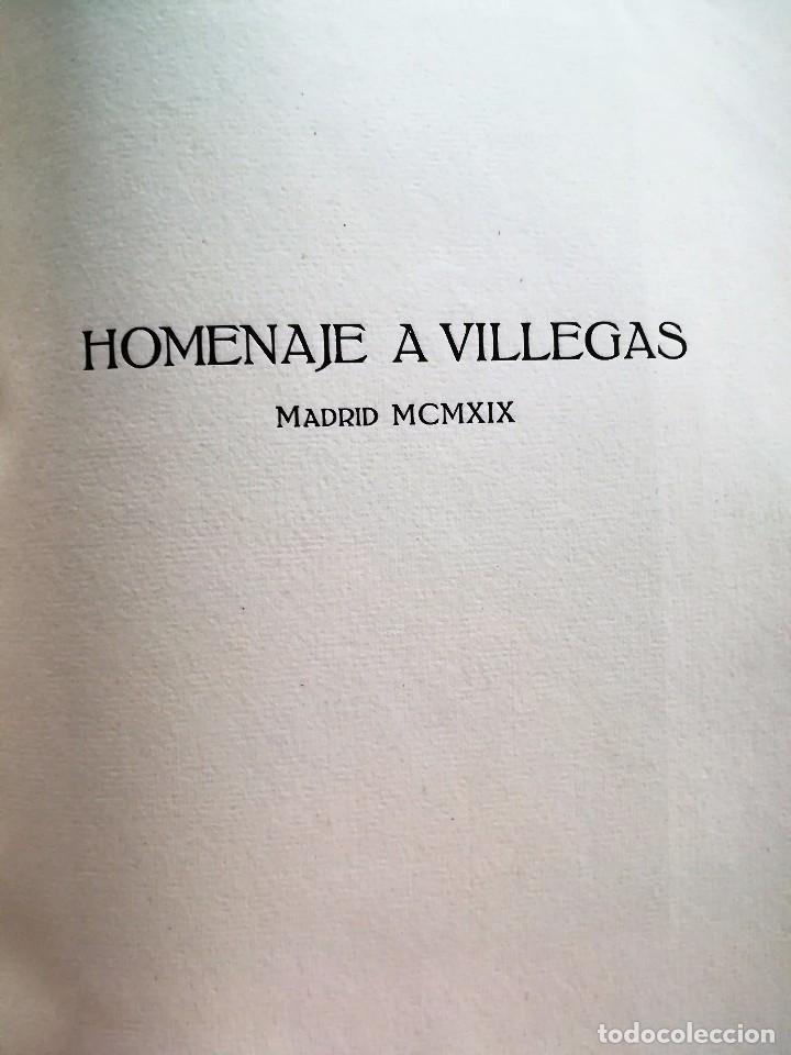 Libros antiguos: HOMENAJE A VILLEGAS 1919. Álbum cronológico de las principales obras de Villegas. PINTURA SEVILLANA. - Foto 2 - 93022050