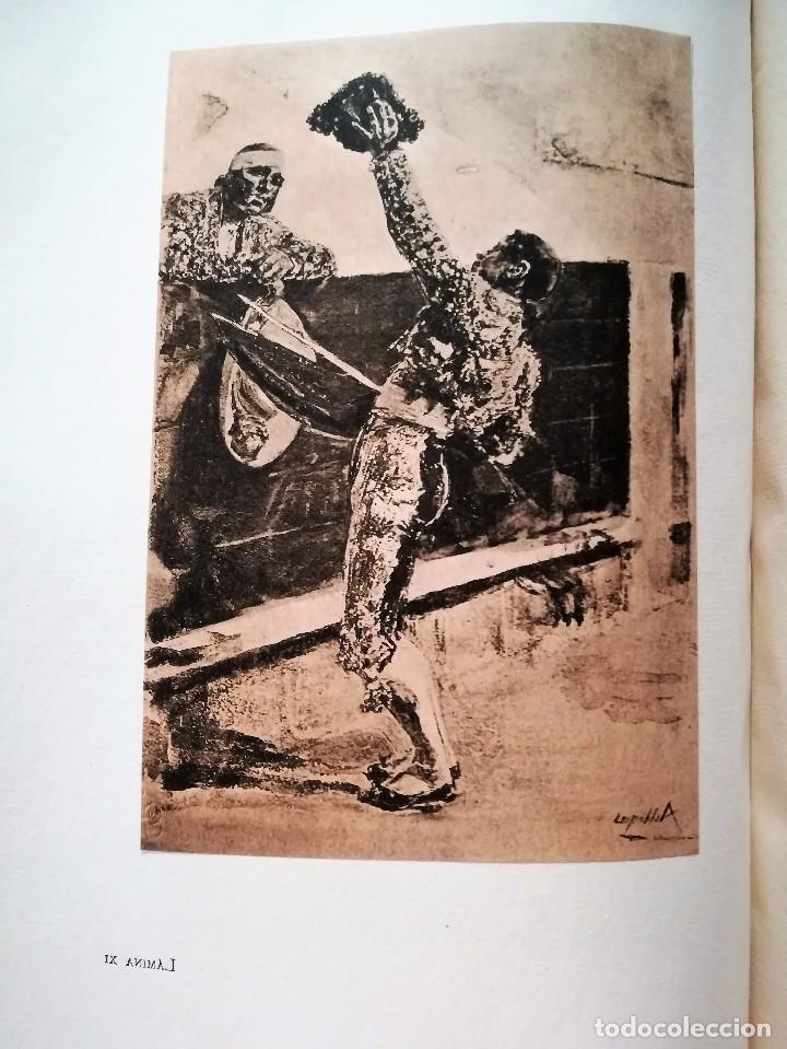 Libros antiguos: HOMENAJE A VILLEGAS 1919. Álbum cronológico de las principales obras de Villegas. PINTURA SEVILLANA. - Foto 6 - 93022050