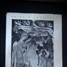Libros antiguos: ARTES Y ARTISTAS BERNARDO MARTORELL. JOSE GUDIOL RICART. INSTITUTO DIEGO VAZQUEZ 1959. . Lote 95213115