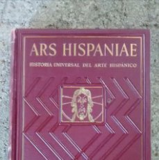 Libros antiguos: ARS HISPANIAE VOLUMEN VI PINTURA ROMANICA 1950. Lote 96496831