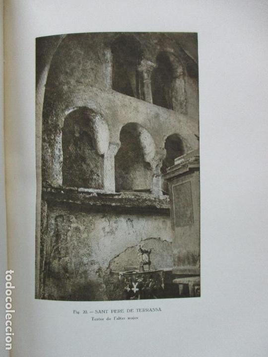 Libros antiguos: LA PINTURA MIG-EVAL CATALANA. ELS PRMITIUS. PRIMERA I SEGONA PART. MN. JOSEP GUDIOL. 1927. - Foto 4 - 98836203
