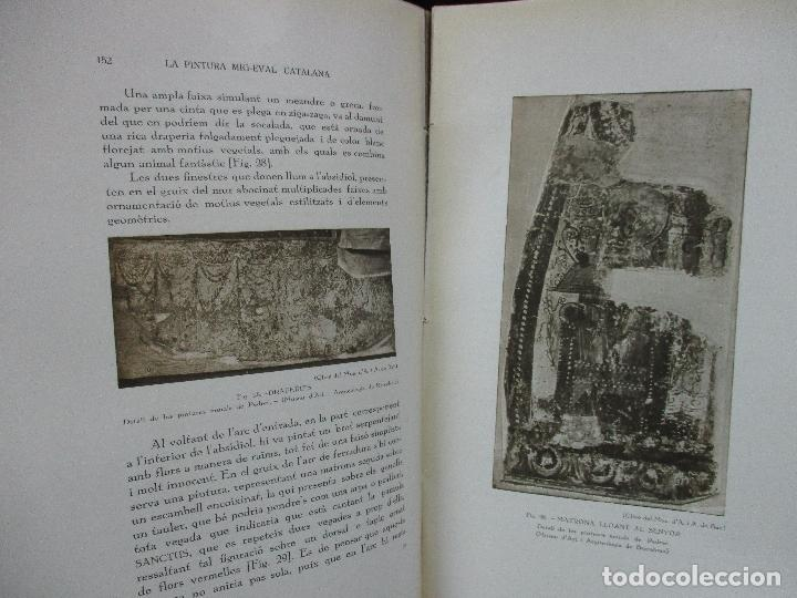 Libros antiguos: LA PINTURA MIG-EVAL CATALANA. ELS PRMITIUS. PRIMERA I SEGONA PART. MN. JOSEP GUDIOL. 1927. - Foto 5 - 98836203