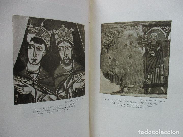 Libros antiguos: LA PINTURA MIG-EVAL CATALANA. ELS PRMITIUS. PRIMERA I SEGONA PART. MN. JOSEP GUDIOL. 1927. - Foto 8 - 98836203