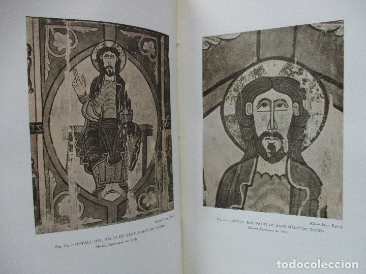 Libros antiguos: LA PINTURA MIG-EVAL CATALANA. ELS PRMITIUS. PRIMERA I SEGONA PART. MN. JOSEP GUDIOL. 1927. - Foto 10 - 98836203
