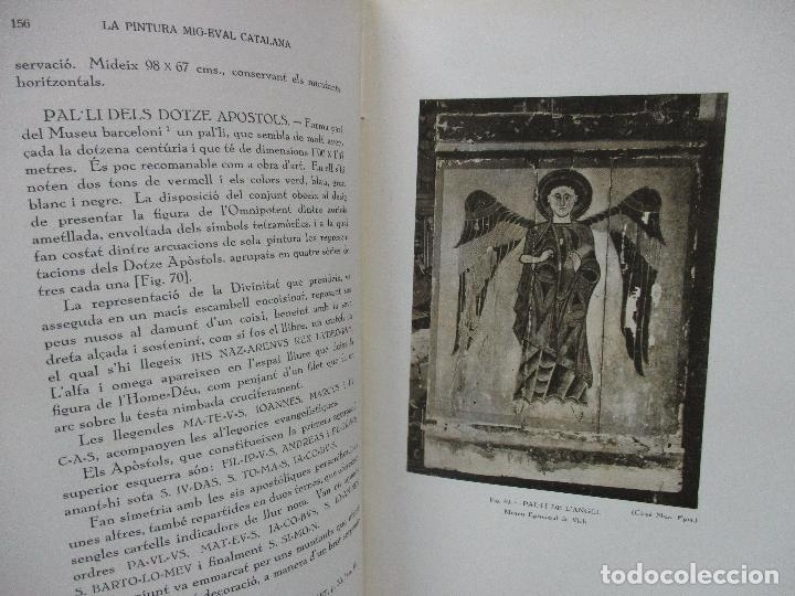 Libros antiguos: LA PINTURA MIG-EVAL CATALANA. ELS PRMITIUS. PRIMERA I SEGONA PART. MN. JOSEP GUDIOL. 1927. - Foto 12 - 98836203