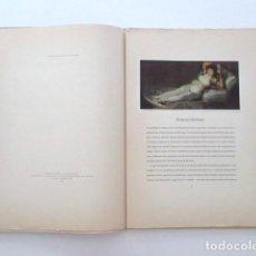 Libros antiguos: GOYA, CARPETA CON NUEVE LÁMINAS EDITADA EN EL AÑO 1943 EN SUIZA, VER FOTOS. Lote 99858719
