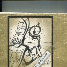 Libros antiguos: LIBRO AÑO 1973 SALVADOR DALI DAMIA ESCUDER FRANSCES AMIGO JOSEP AMAT CARLES VIVO JAUME COLL PORTAS. Lote 99944227