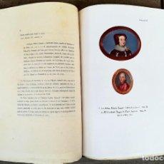 Libros antiguos: PINTURA,LIBRO DE LUJO,CATALOGO DE MINIATURAS Y PEQUEÑOS RETRATOS, AÑO 1924,BERWICK Y DUQUE DE ALBA. Lote 99992171