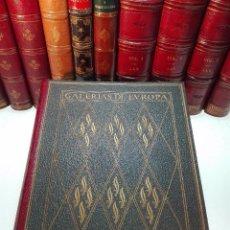 Libros antiguos: ALBUM DE LA GALERÍA DE PINTURAS DEL MUSEO DEL LOUVRE - JOSÉ CAMÓN AZNAR - EDIT. LABOR - 1935 -. Lote 100247247