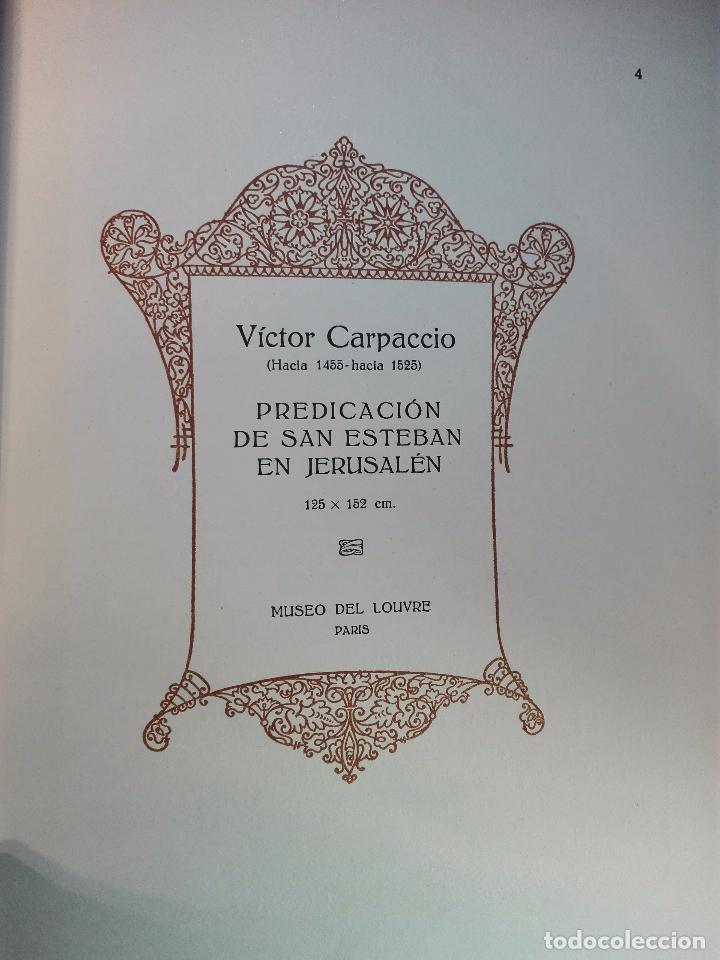Libros antiguos: ALBUM DE LA GALERÍA DE PINTURAS DEL MUSEO DEL LOUVRE - JOSÉ CAMÓN AZNAR - EDIT. LABOR - 1935 - - Foto 4 - 100247247