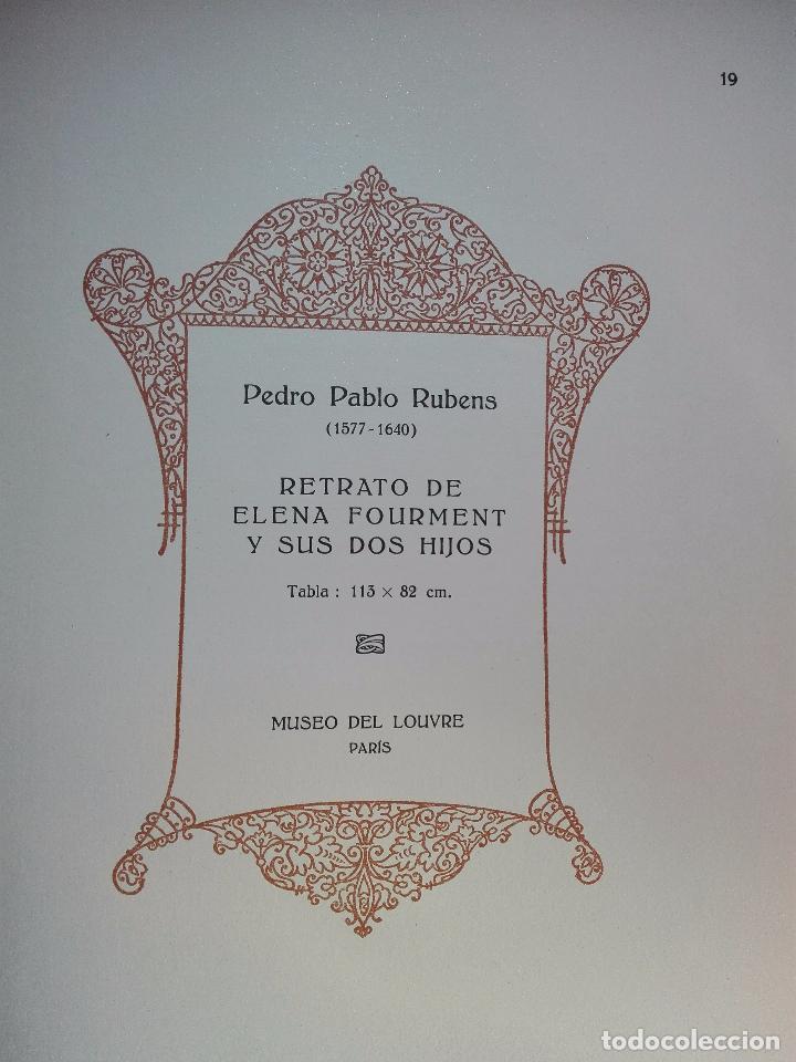 Libros antiguos: ALBUM DE LA GALERÍA DE PINTURAS DEL MUSEO DEL LOUVRE - JOSÉ CAMÓN AZNAR - EDIT. LABOR - 1935 - - Foto 6 - 100247247