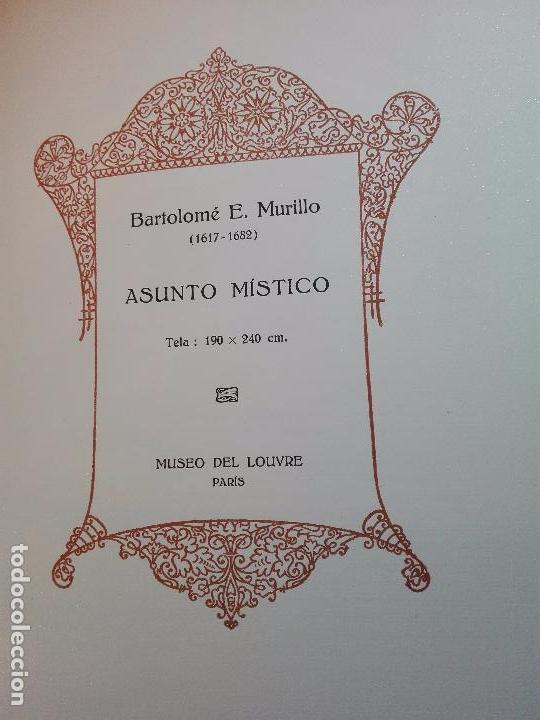 Libros antiguos: ALBUM DE LA GALERÍA DE PINTURAS DEL MUSEO DEL LOUVRE - JOSÉ CAMÓN AZNAR - EDIT. LABOR - 1935 - - Foto 8 - 100247247