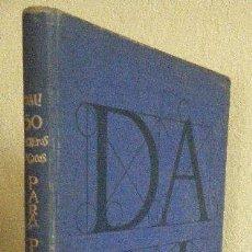 Libros antiguos: DALI.- 50 SECRETOS MÁGICOS PARA PINTAR. Lote 100609299