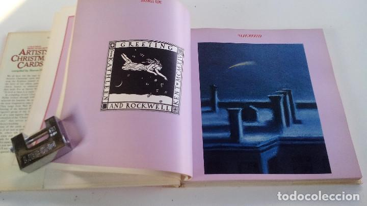 Libros antiguos: ARTISTS CHRISTMS CARDS-COMPILED BY STEVEN HELLER-A & W PUBLISHERS-NEW YORK-1979-TAPAS DURAS + CUBIER - Foto 6 - 101174927