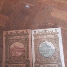 Libros antiguos: EL ESCORIAL I Y II. Lote 101456384