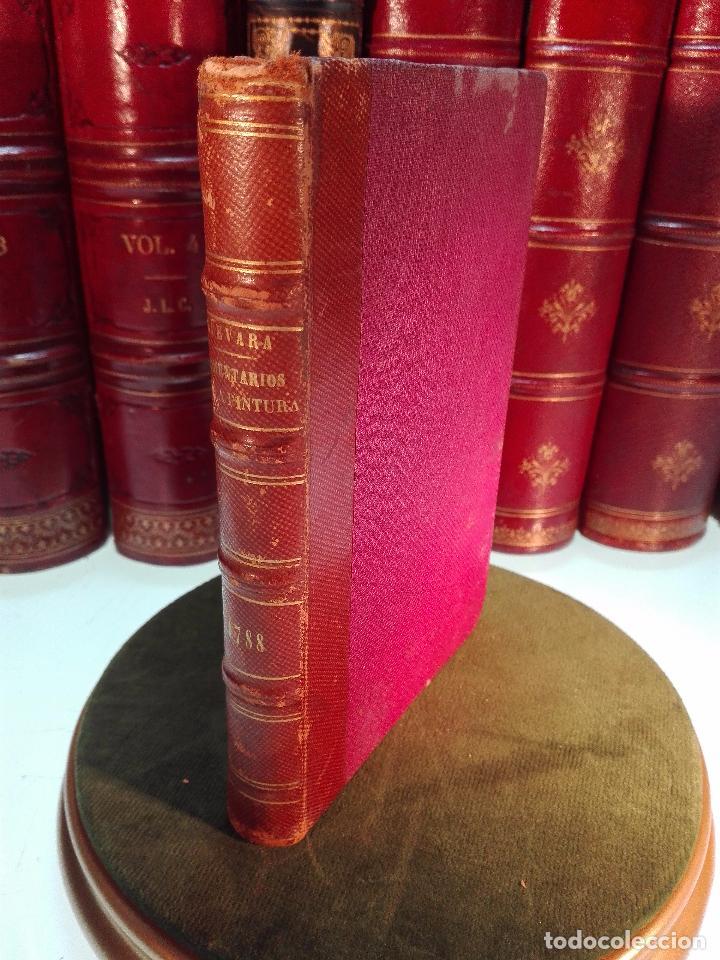 COMENTARIOS DE LA PINTURA QUE ESCRIBIÓ DON FELIPE DE GUEVARA - DON ANTONIO PONZ - MADRID - 1788 - (Libros Antiguos, Raros y Curiosos - Bellas artes, ocio y coleccion - Pintura)