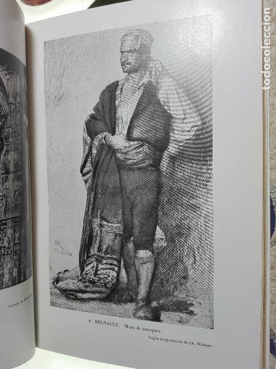 Libros antiguos: VIAJE A ESPAÑA DEL PINTOR HENRI REGNAULT ( 1868 - 1870 ) - MARIA BREY MARIÑO - VALENCIA - 1949 - - Foto 4 - 101671511
