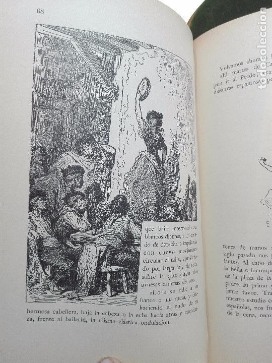 Libros antiguos: VIAJE A ESPAÑA DEL PINTOR HENRI REGNAULT ( 1868 - 1870 ) - MARIA BREY MARIÑO - VALENCIA - 1949 - - Foto 7 - 101671511