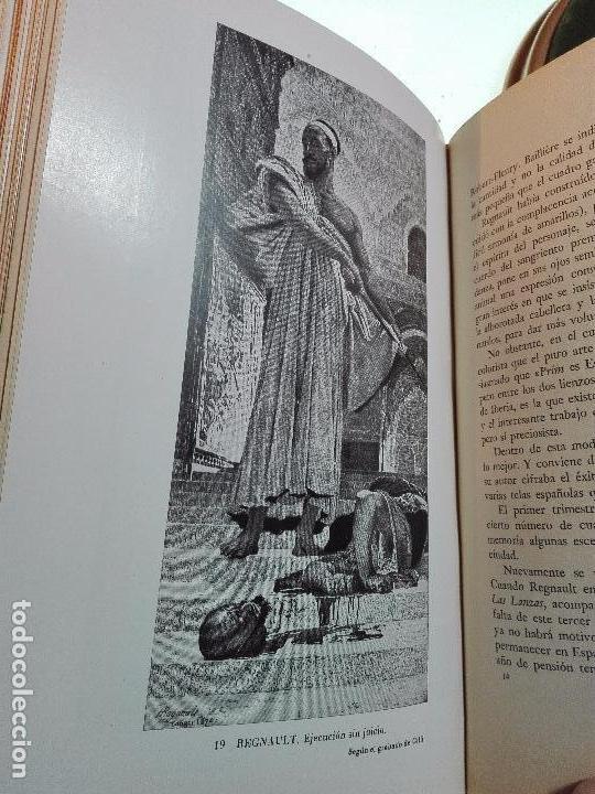 Libros antiguos: VIAJE A ESPAÑA DEL PINTOR HENRI REGNAULT ( 1868 - 1870 ) - MARIA BREY MARIÑO - VALENCIA - 1949 - - Foto 8 - 101671511