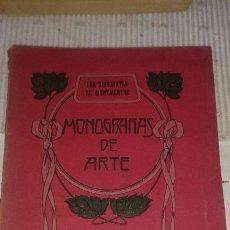 Libros antiguos: MONOGRAFÍAS DE ARTE. LOS DIBUJANTES DE MONTMARTRE. Lote 171501522