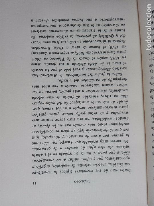 Libros antiguos: DISCURSOS PRACTICABLES DEL NOBILÍSIMO ARTE DE LA PINTURA - JUSEPE MARTÍNEZ -POR JULIÁN GÁLLEGO -1950 - Foto 3 - 102683575
