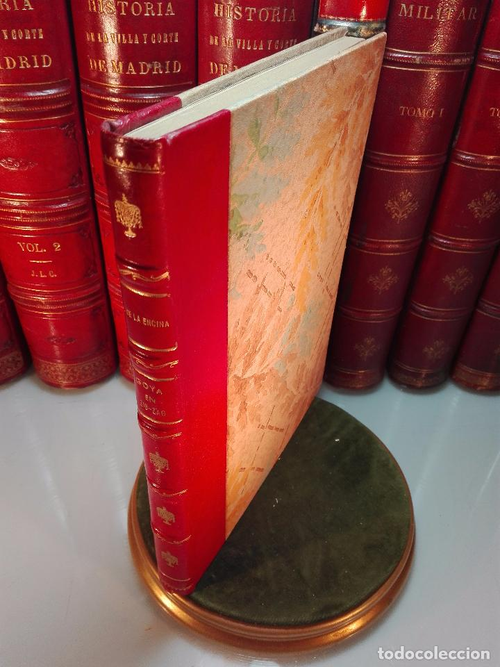 GOYA EN ZIG ZAG - BOSQUEJO DE INTERPRETACIÓN BIOGRÁFICA POR JUAN DE LA ENCINA - ESPASA-CALPE - (Libros Antiguos, Raros y Curiosos - Bellas artes, ocio y coleccion - Pintura)