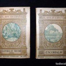 Libros antiguos: EL ARTE EN ESPAÑA. PATRONATO NACIONAL DE TURISMO. 2 TOMOS. Nº 22 Y 26. ED. THOMAS, AÑOS 20 . Lote 104423879