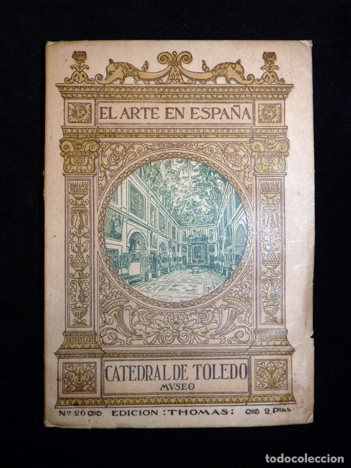 Libros antiguos: EL ARTE EN ESPAÑA. PATRONATO NACIONAL DE TURISMO. 2 TOMOS. Nº 22 y 26. ED. THOMAS, AÑOS 20 - Foto 2 - 104423879