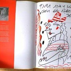 Libros antiguos: JUAN GARCES (MARÍN 1935 - MADRID 2014) 2 LIBROS, UNO CON UN DIBUJO ROTULADORES Y DEDICADO .. Lote 105033087