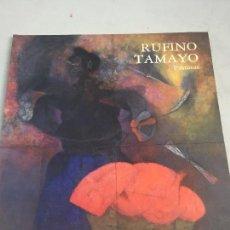 Libros antiguos: RUFINO TAMAYO PINTURAS CENTRO ARTE REINA SOFÍA 1988 CATÁLOGO MUY BUEN ESTADO. Lote 105458383
