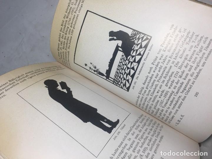 Libros antiguos: Miniaturen und Silhouetten Max Boehn Munchen 1919 Estudio miniatura y siluetas estudio ilustrado - Foto 9 - 106600575
