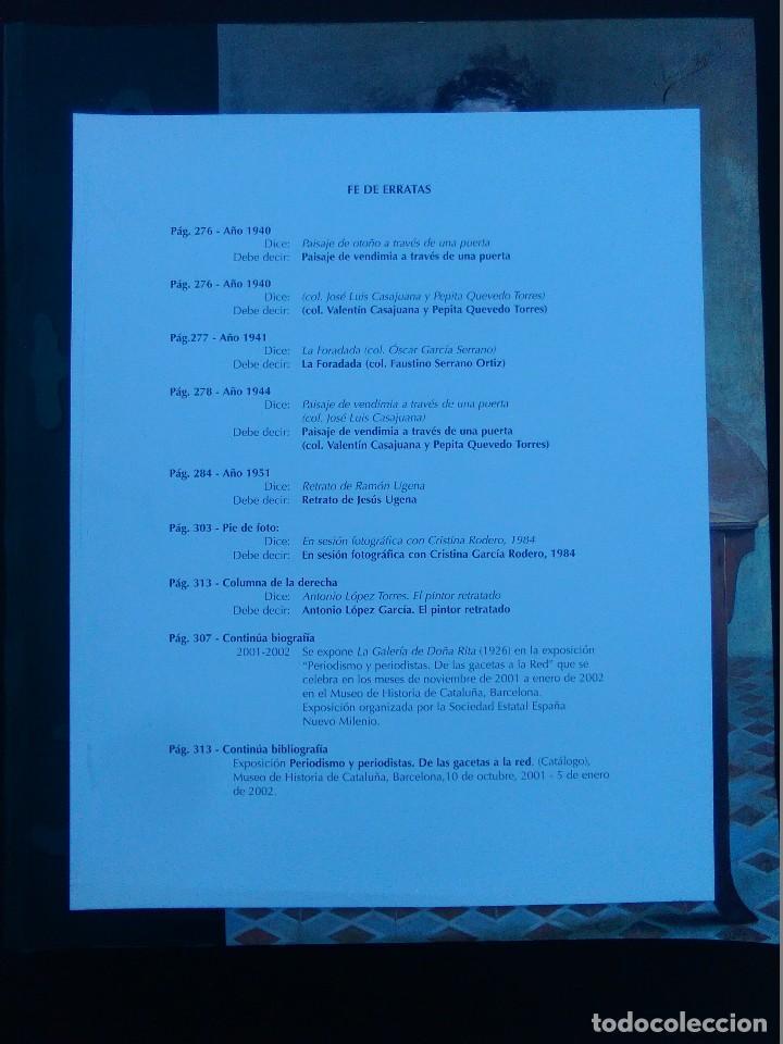 Libros antiguos: A. LÓPEZ TORRES. 1902-2002. VVAA. Catálogo de exposición 2002. CENTENARIO - Foto 3 - 106905051