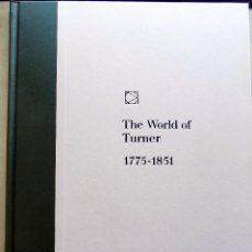 Libros antiguos: THE WORLD OF TURNER. EL MUNDO DE TURNER. 1969 TIME LIFE BOOKS, NEW YORK W . Lote 106916523