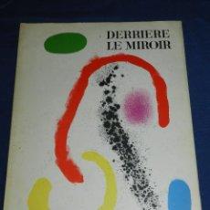 Libros antiguos: (M) JOAN MIRO - DERRIERE LE MIROIR , RENE CHAR , NUM125 - 126 AVRIL 1961 , MAEGHT EDITEUR. Lote 107022747