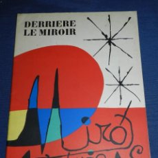 Libros antiguos: (M) JOAN MIRO - ARTIGAS - DERRIERE LE MIROIR , JACQUES PREVERT , NUM 87-88-89 1956 . Lote 107023767
