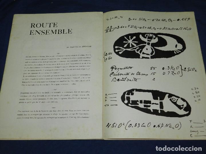Libros antiguos: (M) JOAN MIRO - ARTIGAS - DERRIERE LE MIROIR , JACQUES PREVERT , NUM 87-88-89 1956 - Foto 5 - 107023767